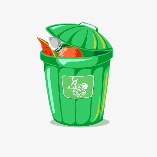厨余垃圾桶图片