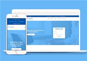 VIP软件付费服务公司单页模板