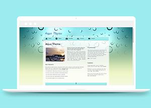 图文排版企业介绍网站模板