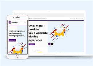 企业一站式服务网站模板