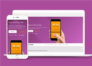 双系统app移动应用网站模板