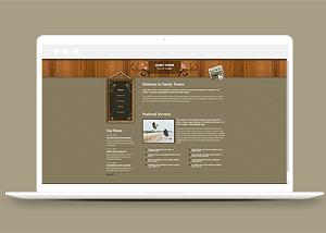 服务宣传网站模板