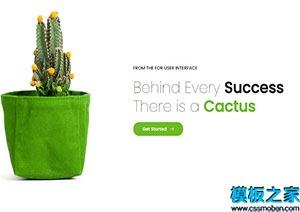 植物盆栽协会网站模板