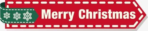 merry christmas标签