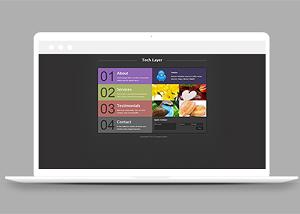 图文展示网站模板