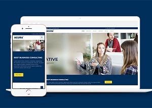 家教培训公司html网页模板