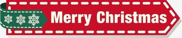 圣诞节英文标签