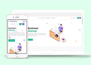图案设计企业网站模板