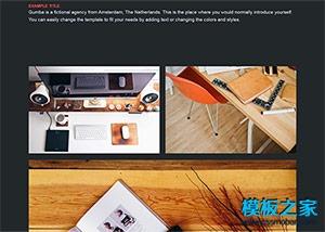 平面设计师个人blog模板