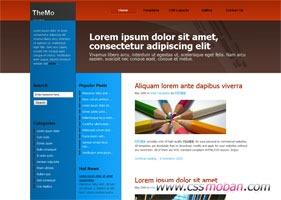 html个人博客CSS模板