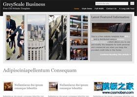 图片排版商业展示网页模板