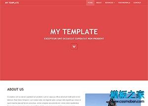 别墅物业公司网站模板