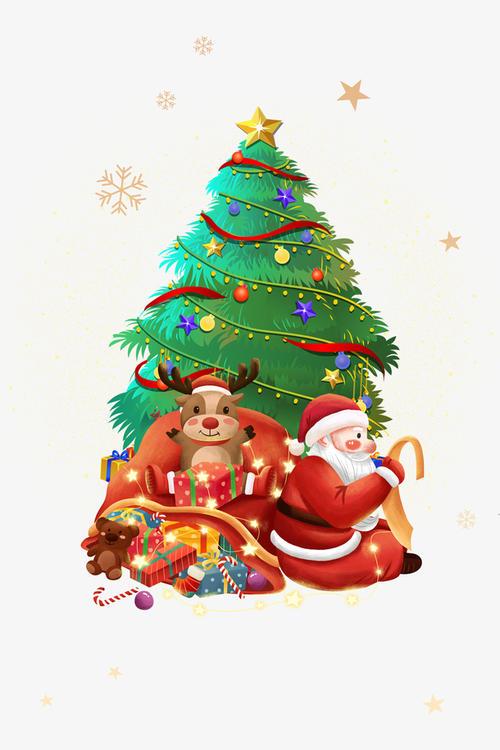 圣诞活动背景图