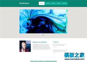 外贸培训企业网站模板