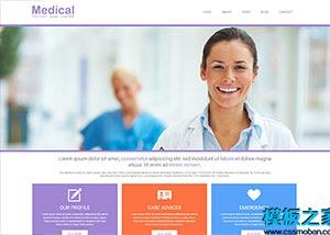 医疗器械外贸公司网站模板