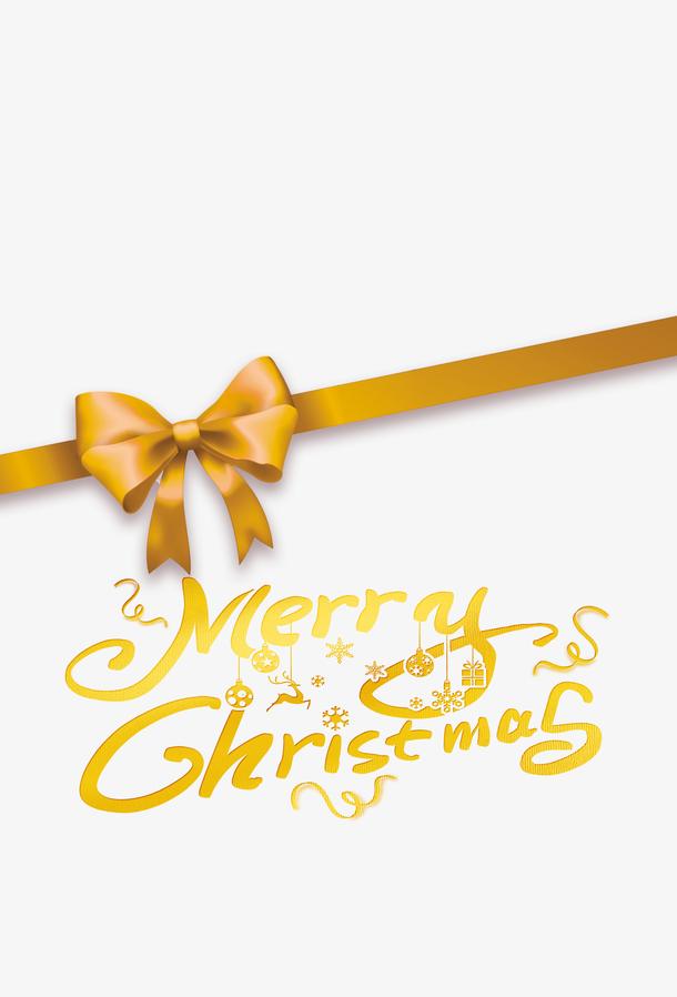 圣诞节丝带蝴蝶结装饰