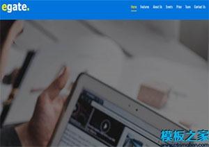 多功能自定义企业引导网站模板