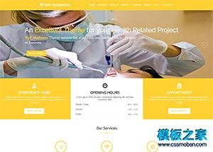 医疗美容整形医院网站模板