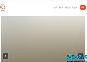 最新技术引导式网站模板