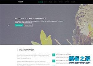 旅行类网站html模板