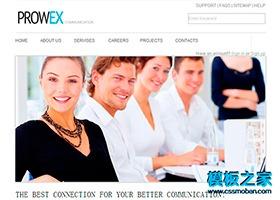 图标商务网站模板