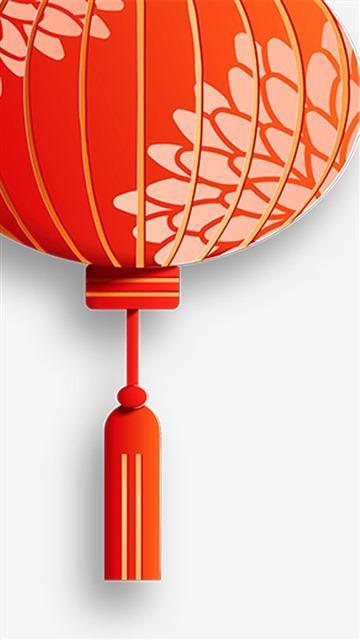 中国风红灯笼