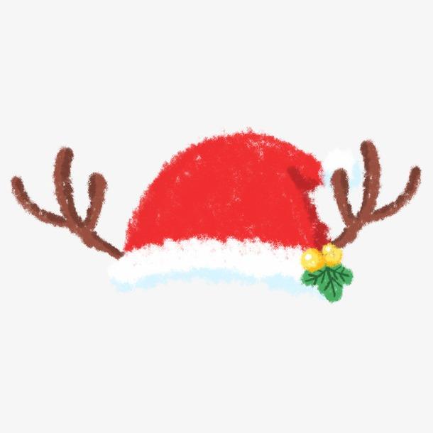 麋鹿角圣诞帽