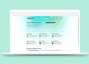 模块化水生网站模板