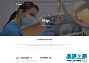 医疗器械企业官网模板