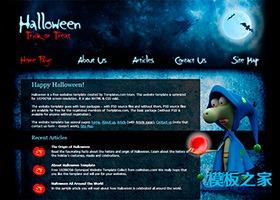 万圣节节日网站模板