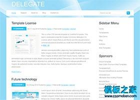 简洁个人博客CSS模板
