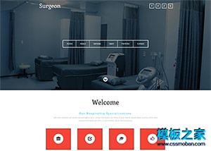 医疗器械生产制造企业网站模板