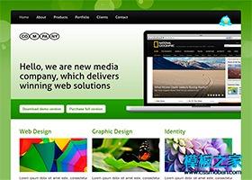 摄影博客主题网站模板