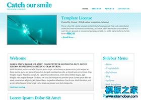 英文版企业博客CSS模板