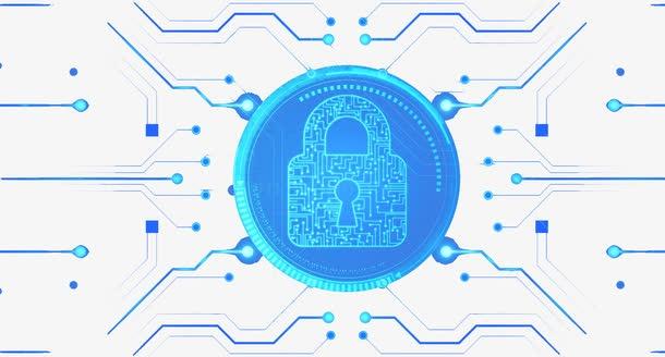 网络安全创意背景