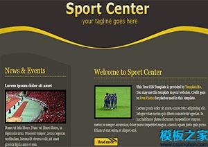 体育运动网站html模板