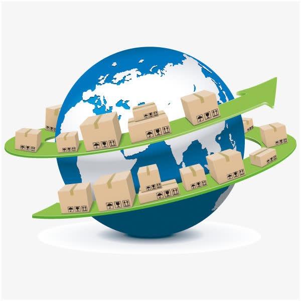全球货物运输流程图