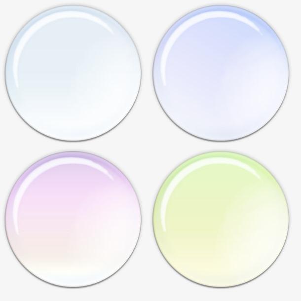 圆形气泡对话框