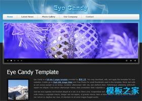 梦幻的旅游网站模板