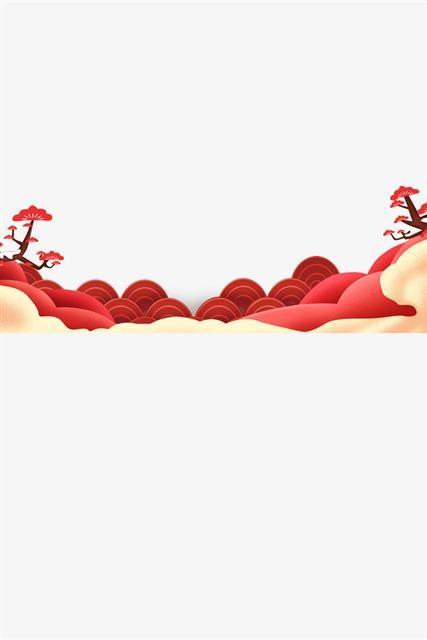 春节喜庆古典边框