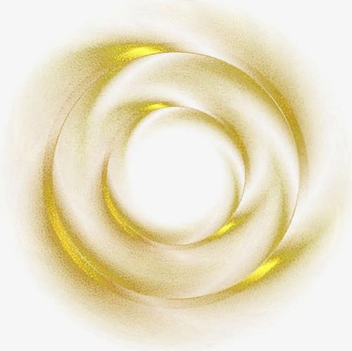 金粉底纹旋涡装饰