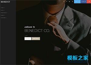 个人摄影师照片展示网页模板