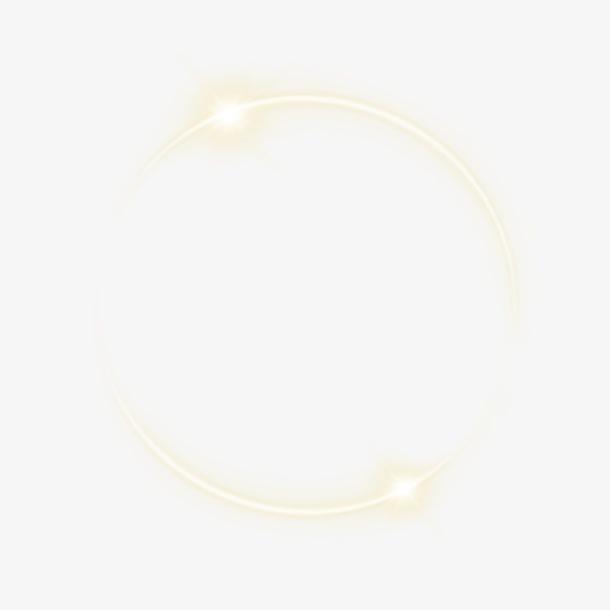 金色光圈免抠元素