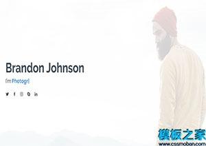 白色响应式企业web网站模板
