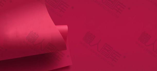 红色褶皱背景素材