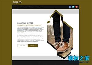 牛仔服装企业网站模板