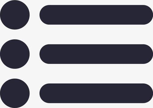 列表icon图标符号