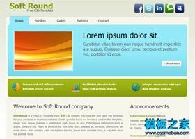 简约大气的软件公司网站模板