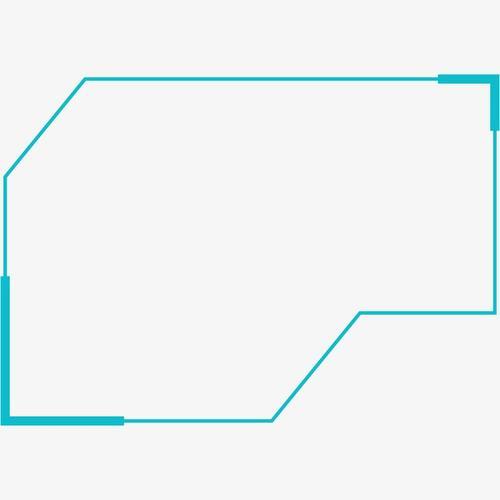 几何抽象科技边框