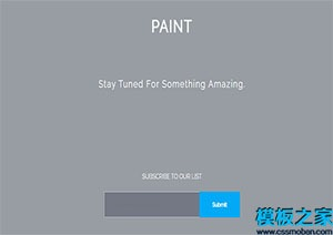 paint网站搜索页面设计模板